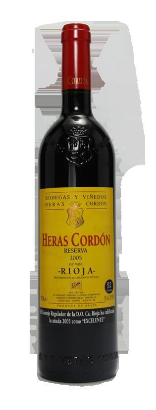 GrandCru Wijnen, 2004 Heras Cordon Reserva Rioja Alta Magnum